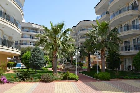 Nice living in Flower Garden Alanya / Oba - Alanya - Apartamento