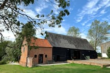 Brook Farm has a Grade 2 listed barn which houses a games room complete with pool table, table tennis, dart and fusbol