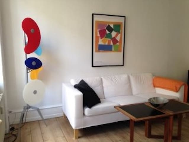 Charming flat in lovely area of Copenhagen - København - Apartment