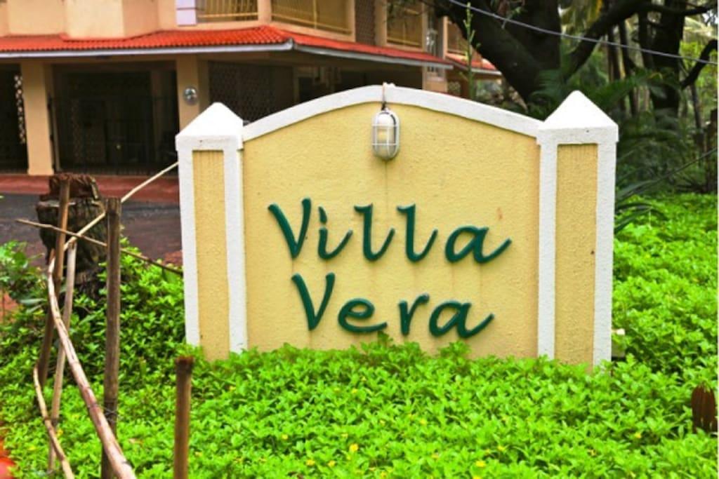 Villa Vera Entrance