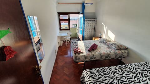 Cozy room with view in Alameda