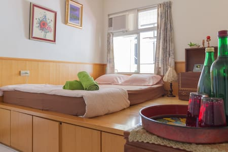 Vintage Double room in Taipei/5 mins to Shilin MRT - 士林區