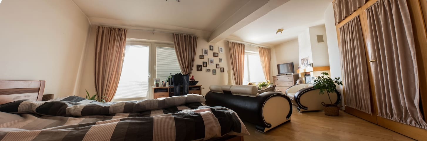Cozy room with private bathroom in Prague 4