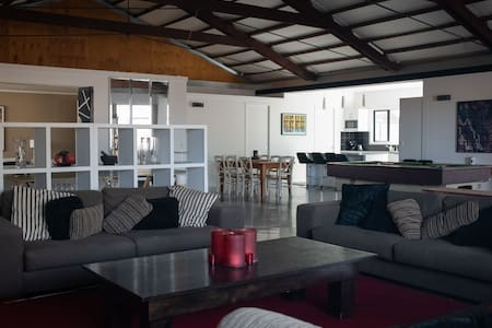 The Station - warehouse apartment style by the sea