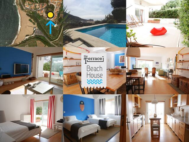 The Terrace - just 1min walk from the beach