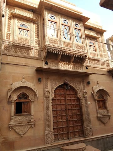 If you visit My Home you will find beauty in stone that looks like not only carved but looks like painted, you will mesmerized by yellow stones which shines like Gold.
