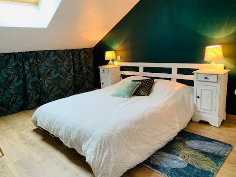 Magnifique chambre Les Rousses à 6 mn du centre