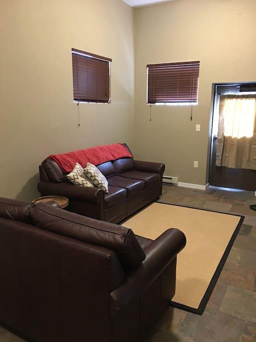 Living Room Area 2 additional tempur pedic sofa beds