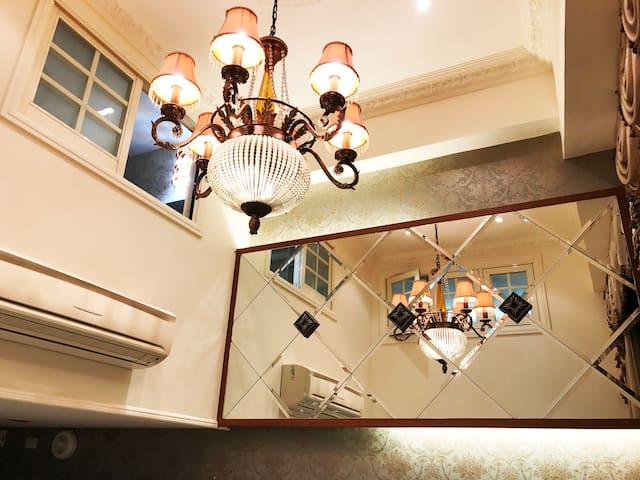 超赞房东!  饶河夜市  松山站3分钟   三房二卫   电梯  可八人入住  隨身WIFI帶著走 - Songshan District - Huis