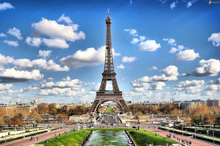 AMAZING LOCATION IN PARIS 2 ROOMS APARTMENT - Paris - Apartemen