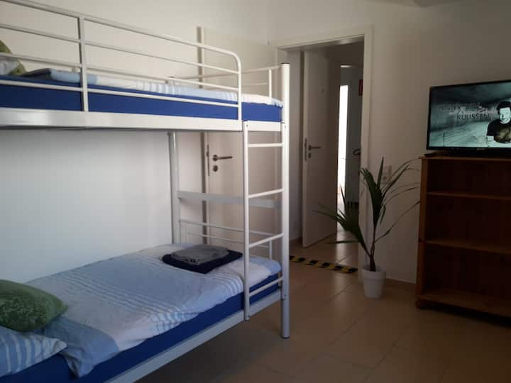 Twin room-Economy-Ensuite with Shower