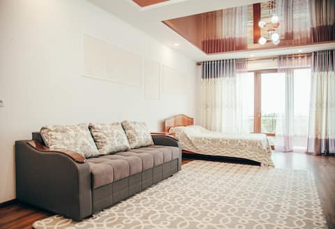 Two Bedrooms in Elbrus Hotel Cholpon-Ata