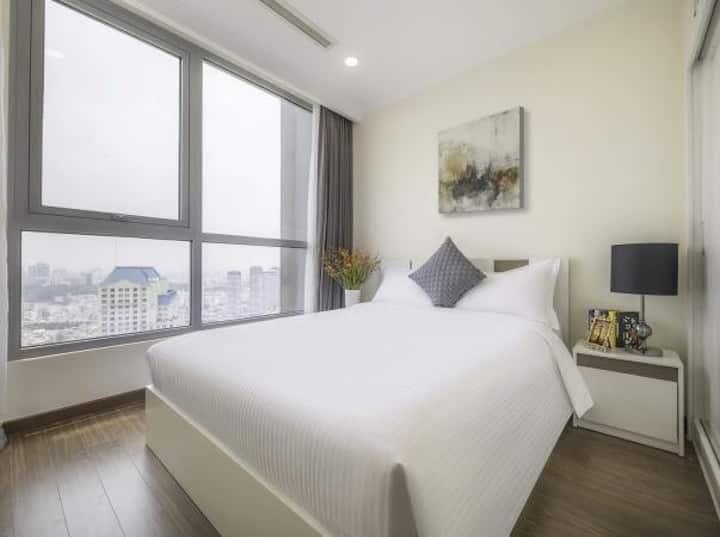 Lp 2 bedroom Vinhome Central Park highfloor