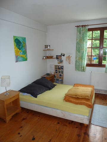 L'Atelier , chambres plein Sud dans une longère - Houppeville - Haus
