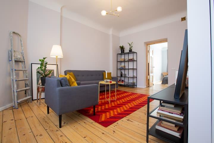 Cosy Apartment in Central Riga Jugendstil building