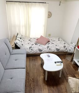 Cozy room,good location902.Wifi. 1min JR bus stop - Naka-ku, Hiroshima-shi