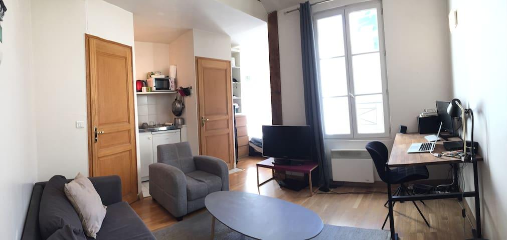 Un studio idéal dans le coeur de Paris (Marais) - Paris - Daire