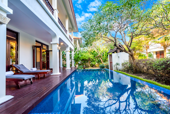Koceano furama villa danang-beach-pool private