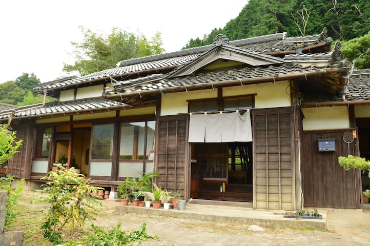 Japanese old style house