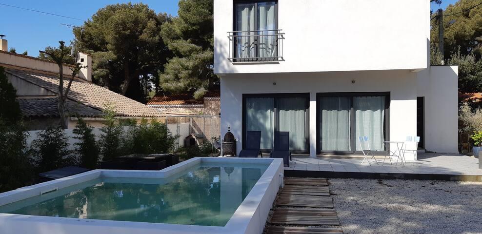 location villa pour vacances sur la cote bleu