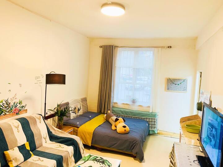 [AUNT CHEN'S HOME]青山万达正翔国际旁历史怀旧街区清新风格小筑