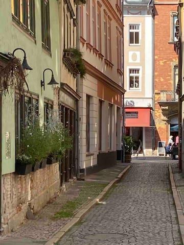 Ferienwohnung im Herzen von Rudolstadt