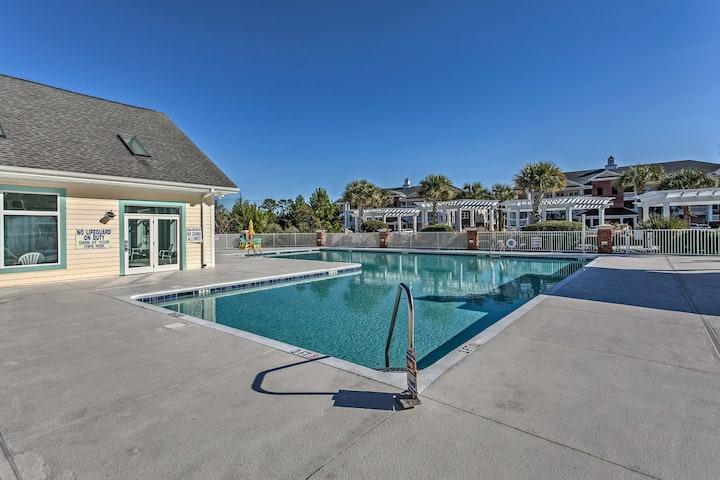 NEW! Resort Condo in Tupelo Bay - 1 Mile to Beach!