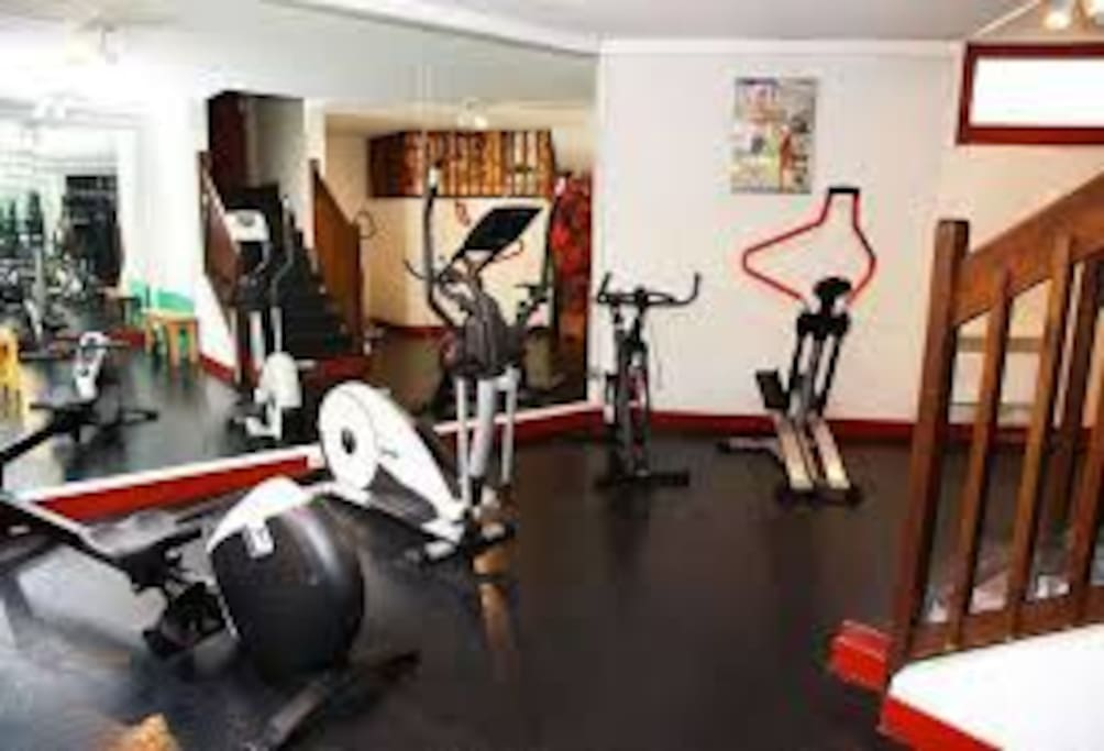 Salle de sport résidence