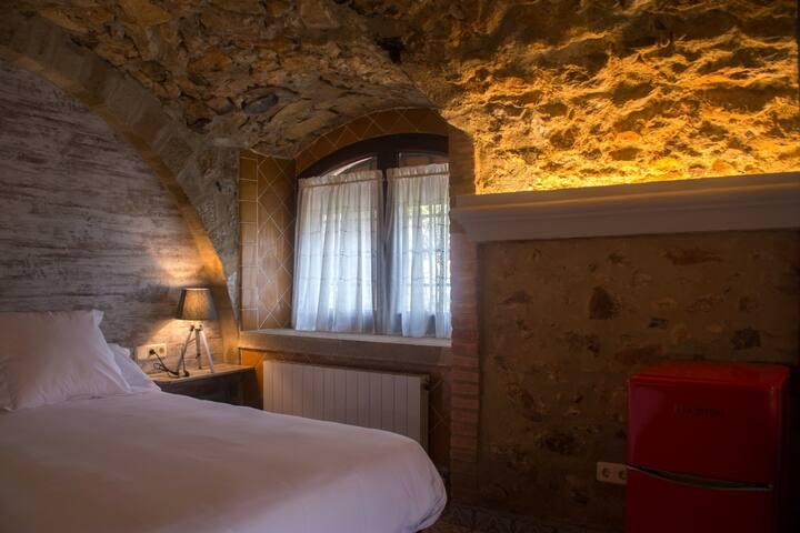 Habitación en casa rústica Costa Brava