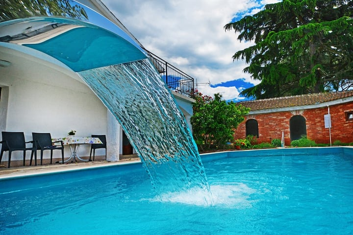 Villa Lanima with Private Pool and Sea View