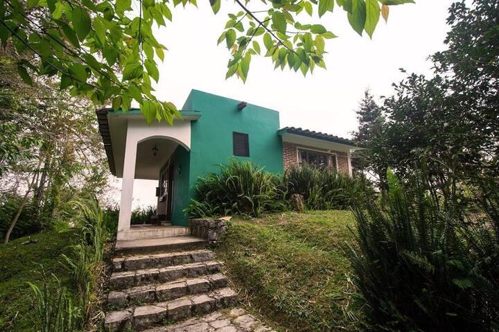 Romántica Villa en el Bosque Mesófilo de Montaña