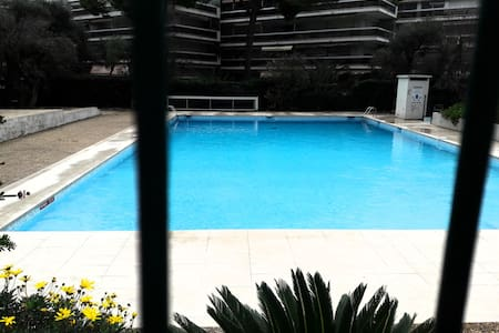 Studio avec piscine Juan les pins proche plage