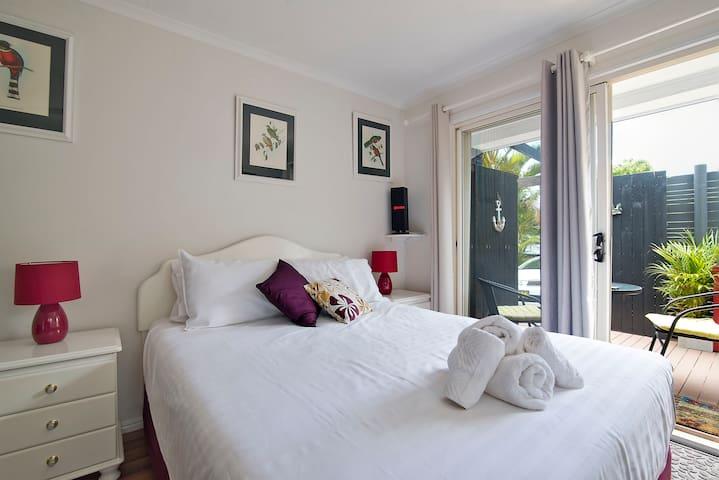 Cosy Studio, Wifi, Foxtel & Aircon - Byron Bay - Apartamento