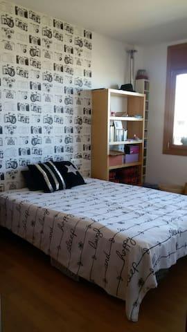 Habitación doble cerca de mar y BARCELONA - Vilassar de Mar - Wohnung