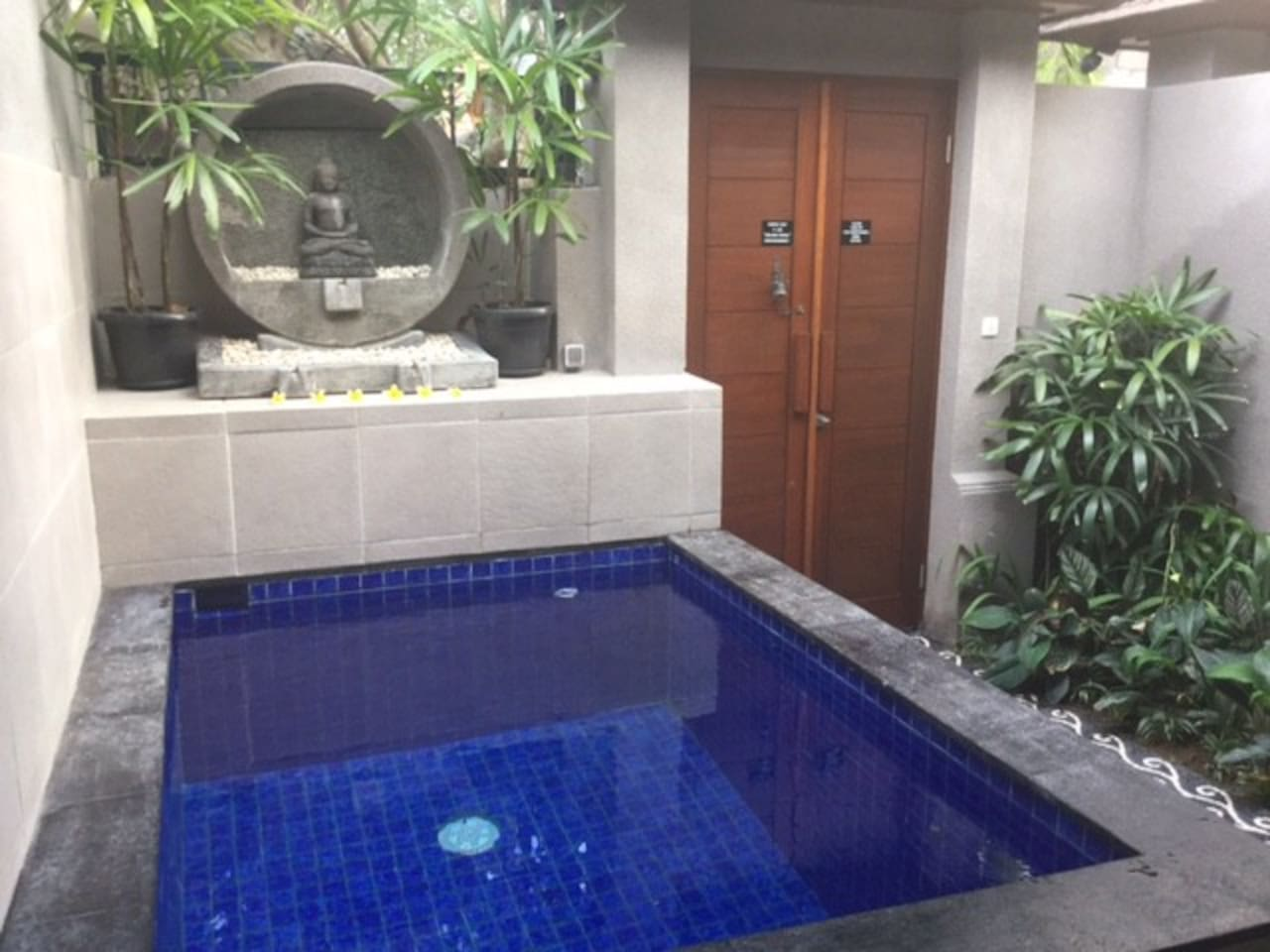 Plunge Pool adjacent to Outdoor Terrace