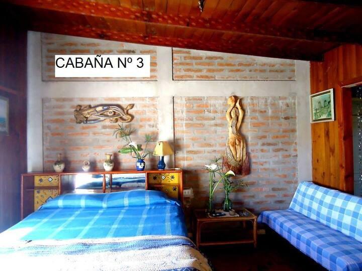 Acogedoras Cabañas para 2 personas en El Quisco
