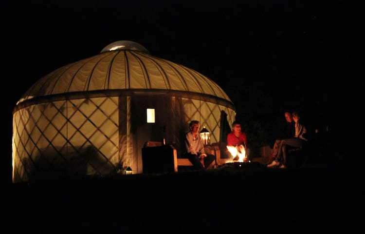 Beautiful Yurt on The Garlic Farm - No.3 - Newchurch - Tenda