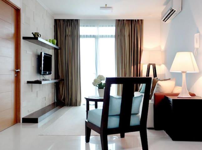 Best location 2BR flat in Pondok Indah, FREE WIFI - Kota Jakarta Selatan - Huoneisto