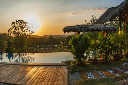Stunning Sunset View Designer Villa