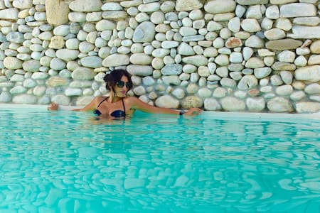 Double room for 2 persons in Paros - Αλυκή - Bed & Breakfast
