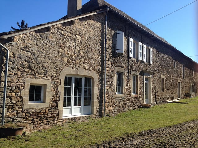 Corps de ferme au cœur de l Aveyron - Durenque - House