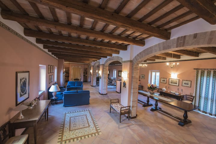 Camere in villa del 700  - Villa Potenza - Villa