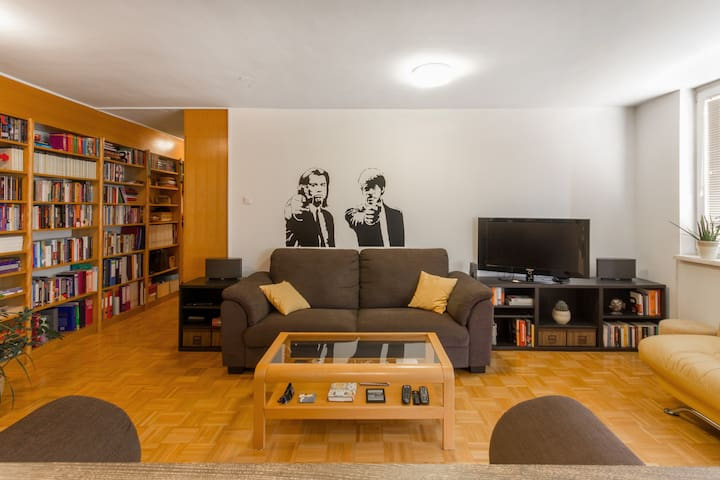 Spacious, modern, 10min to center! - Ljubljana - Lägenhet