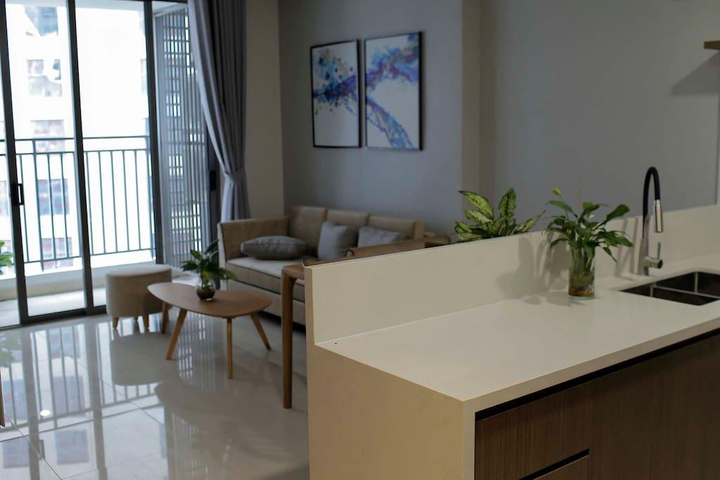 livingroom with Bacony