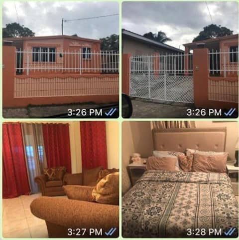 Furnished 2Bedroom House 4 Rent 5mins from airport
