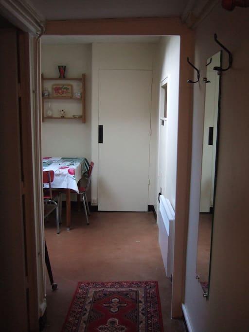 couloir d'entrée