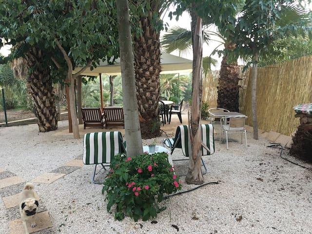 La Casita,  en la serranía de Murcia. Naturaleza %