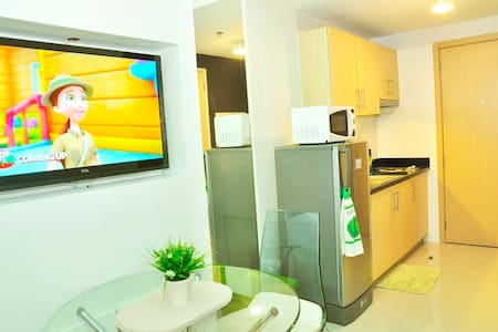 Cozy 1 Br Resort Condo QC w/ Wi-Fi - Ciudad Quezon - 公寓