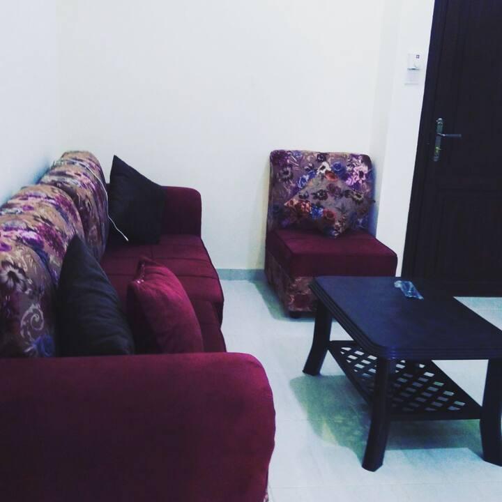 Cozy & Super Clean 2 Rooms Apt In Downtown AQABA