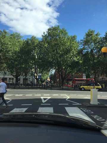 The beautiful Sloane Square